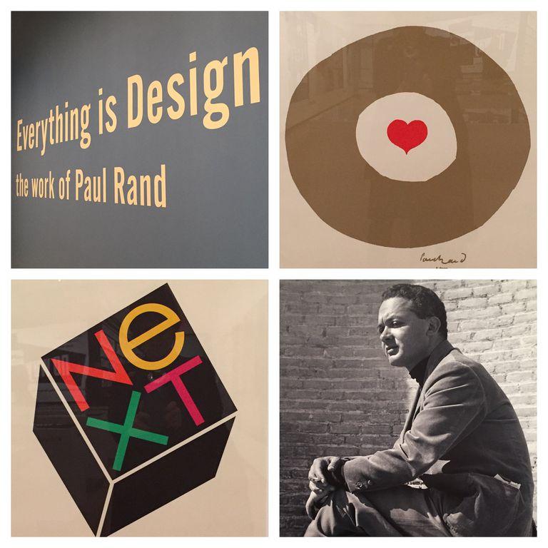 Graphic designer Paul Rand