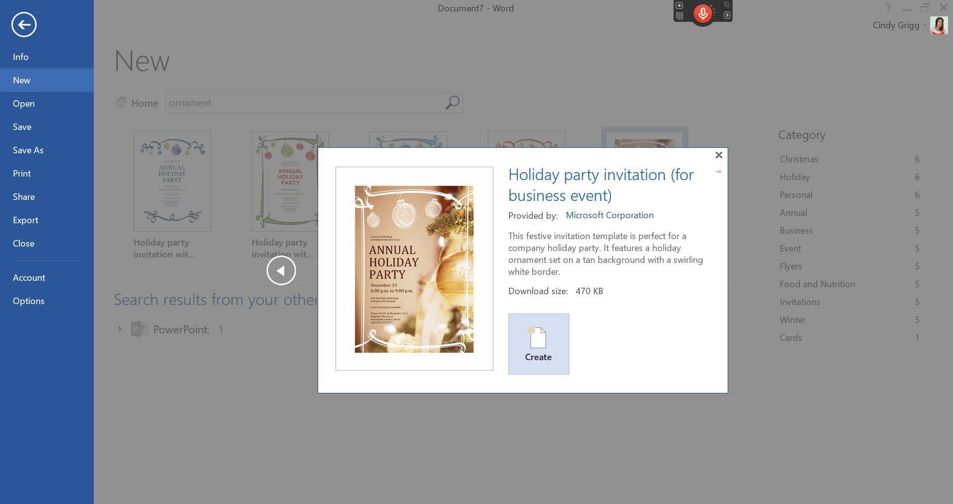 Microsoft\'s Best Free DIY Christmas Templates