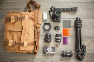 Knolling camera parts and accessories