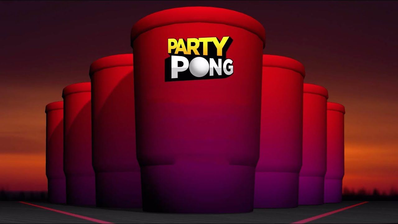screenshot of party pong game