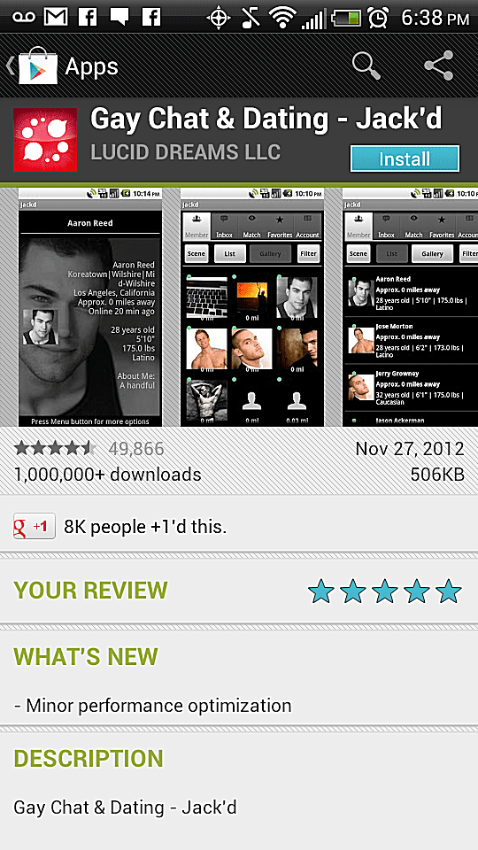 Jack'd Android Download