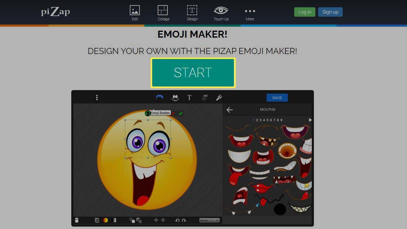 Emoji Maker Pizap