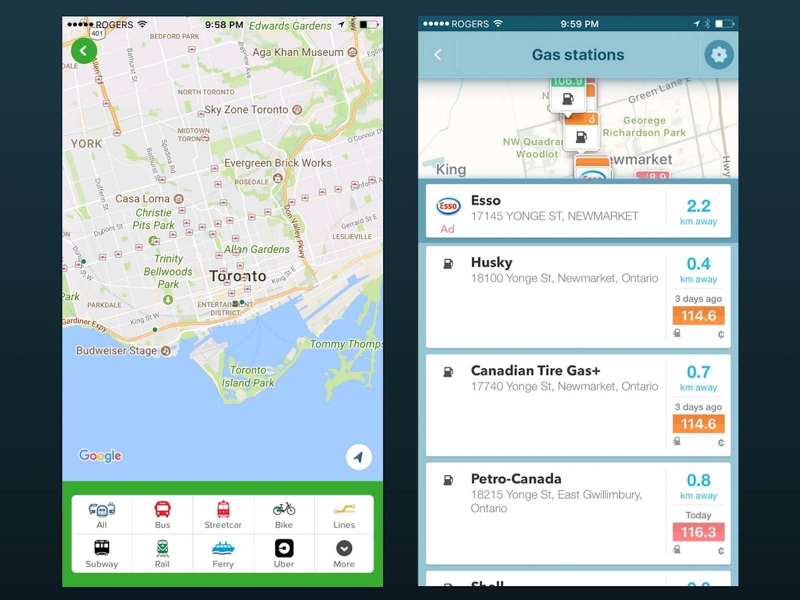 Citymapper for iOS