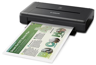 Canon Pixma iP110 Photo Inkjet Printer