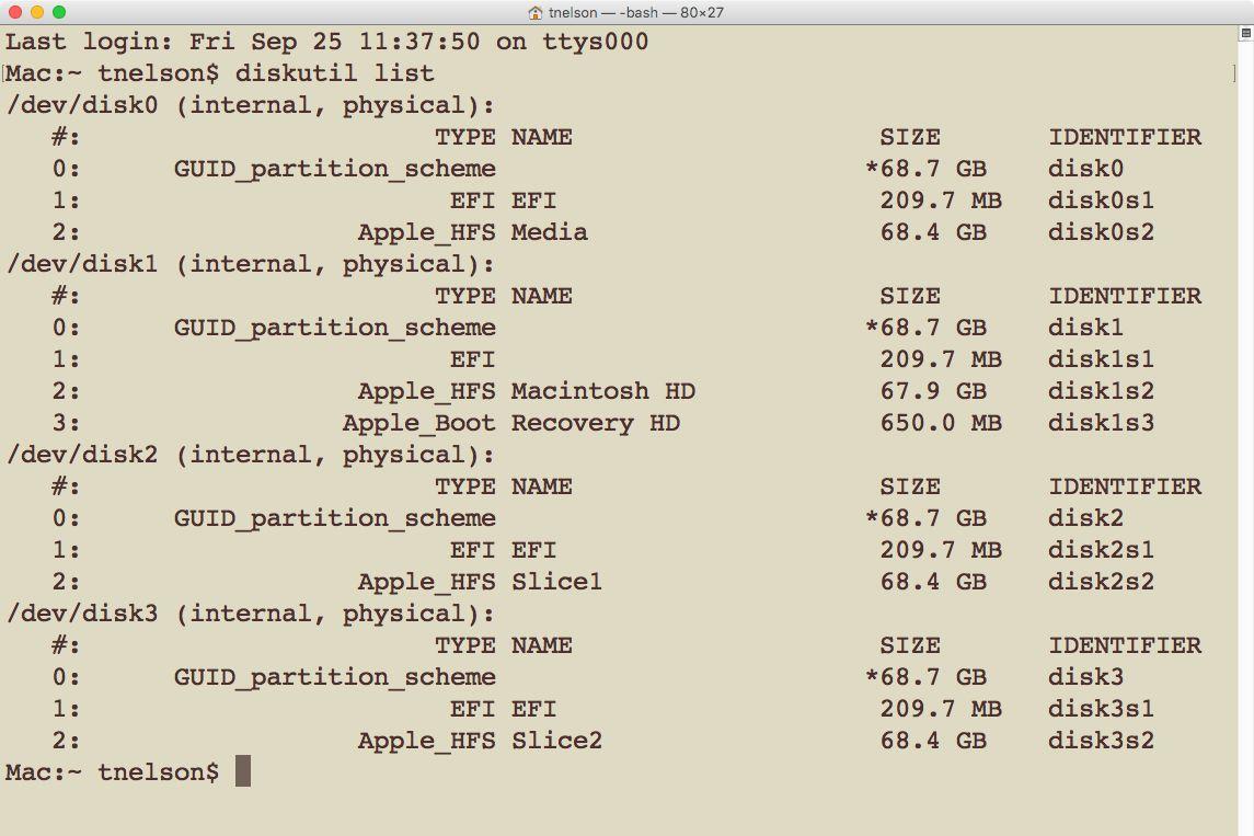 Use Terminal to Create a RAID 0 (Striped) Array in OS X