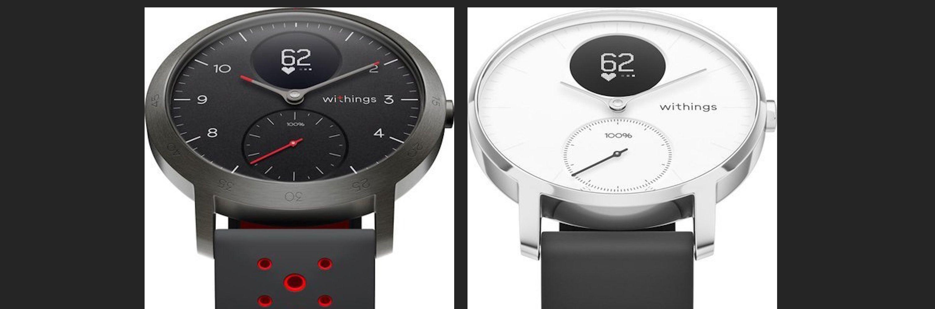 Withings hybrid smartwatch Apple Watch alternative