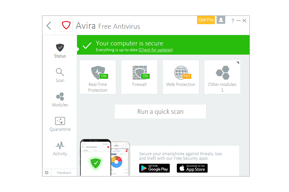 The 5 Best Free Antivirus Software Of 2019