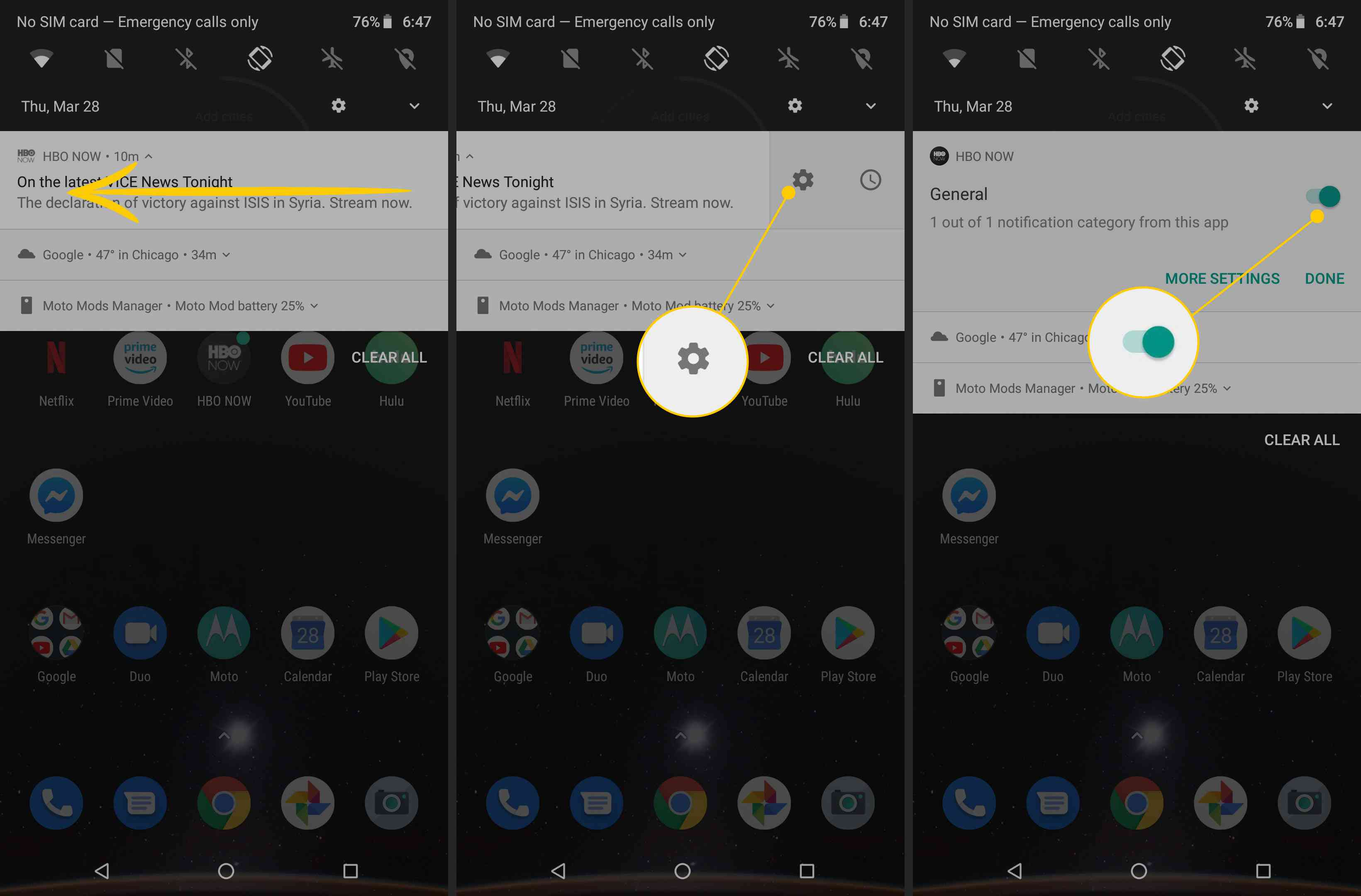 How to Turn off Notifications on Android