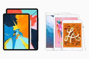 iPad Pro and iPad models, with Apple Pencil