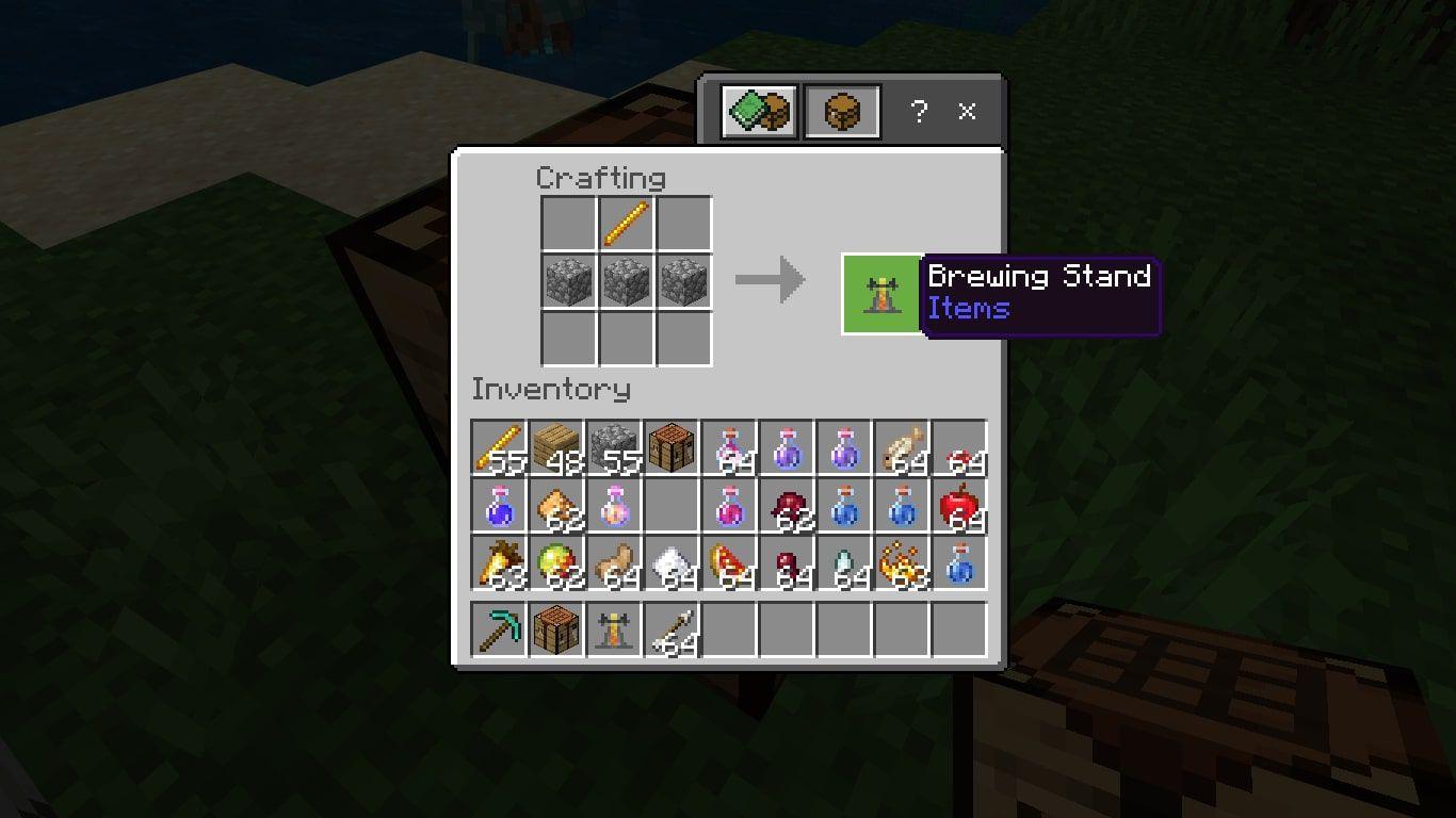 Brewing Stand in Minecraft