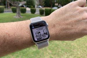 Instagram Explore feed on Apple Watch via Lens