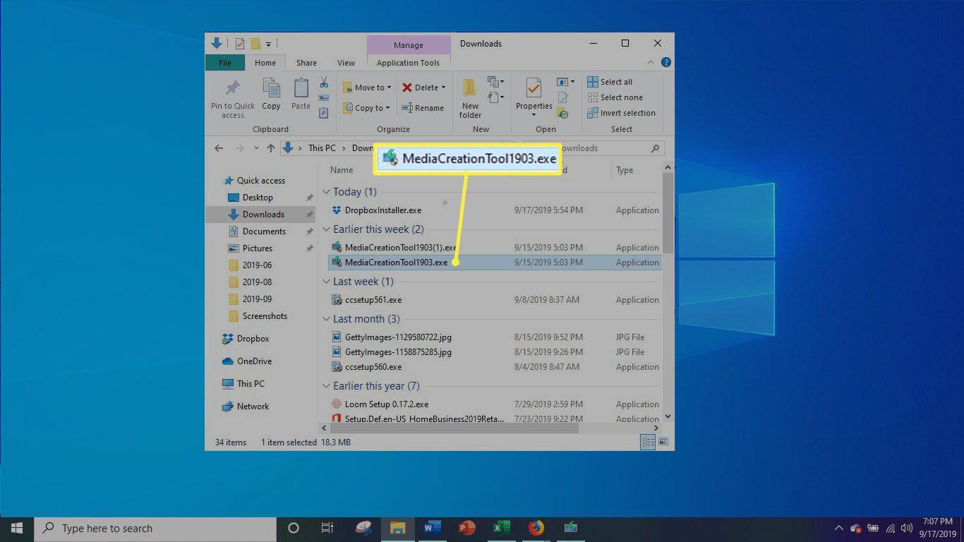 Windows Media Creation
