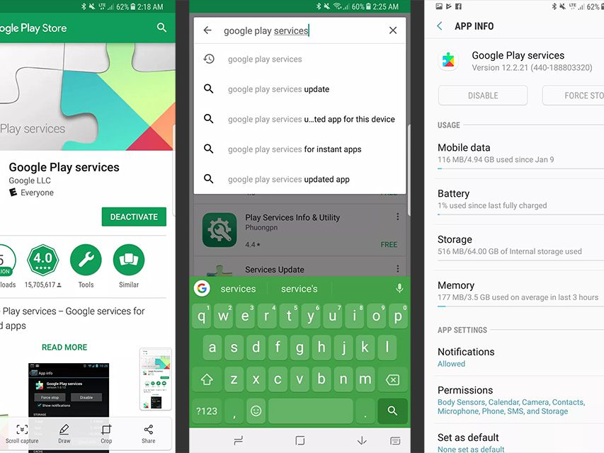 How to Update Google Play Services