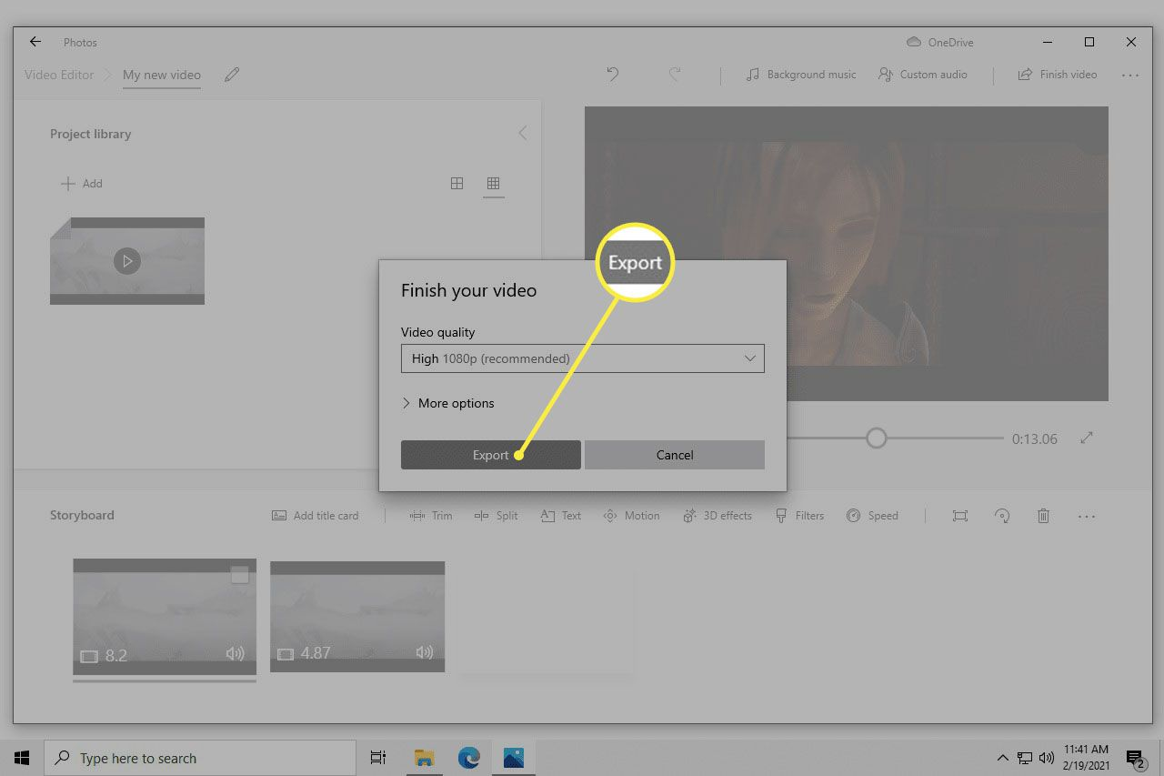 Finish your video prompt with video quality options