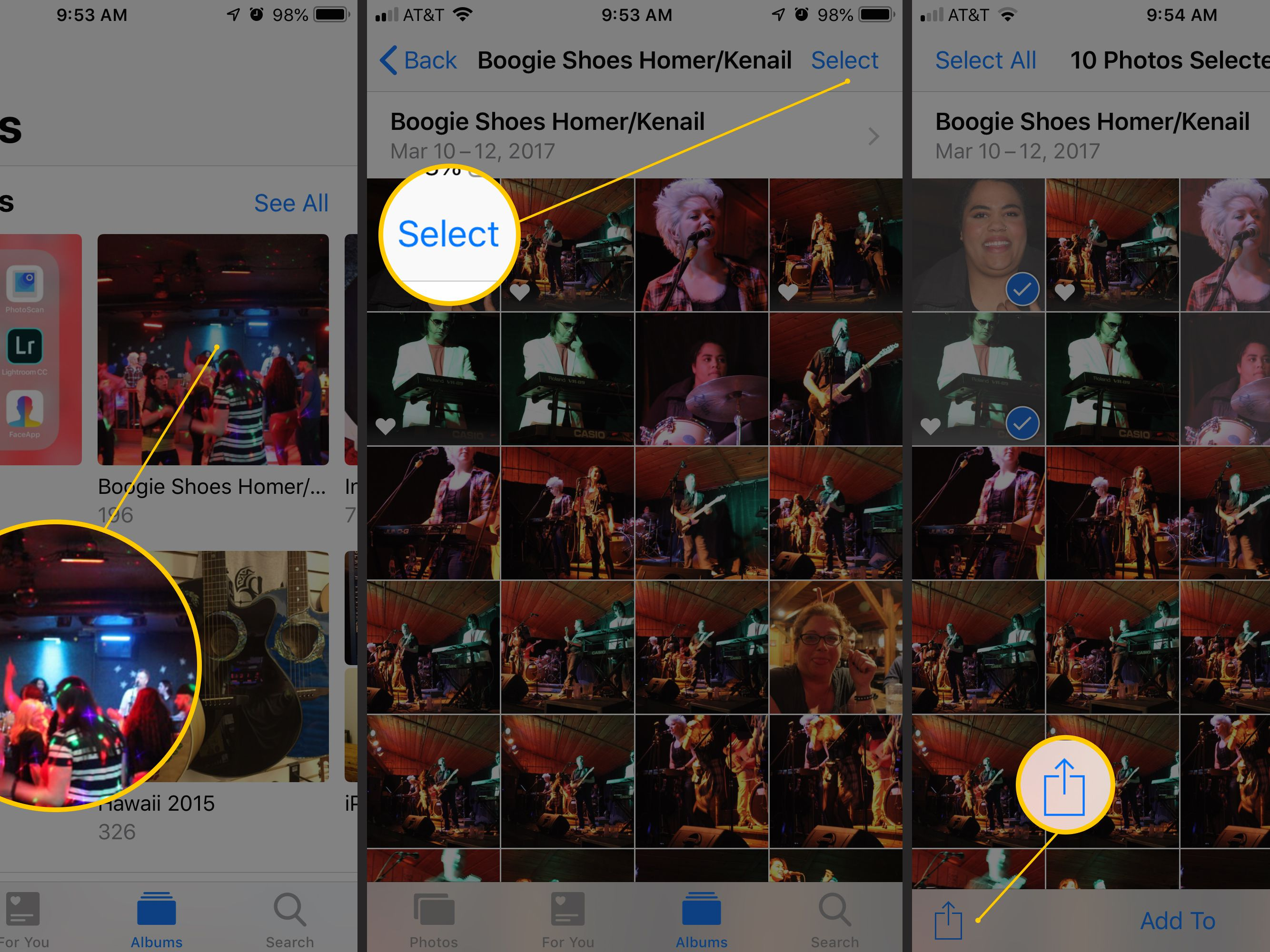 How to Create and Display iPhone Slideshows