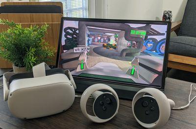 VRChat on Oculus 2.