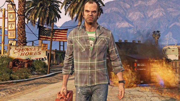 Grand Theft Auto V 4K Screenshot