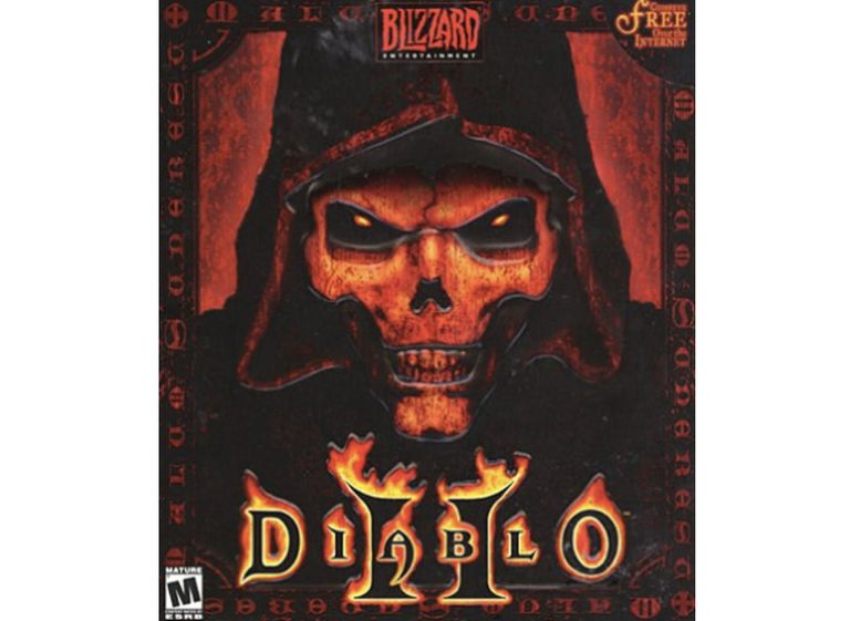 Game cover of Diablo II