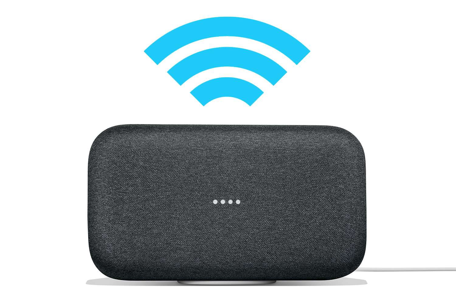 Google Home Max connected to Wi-Fi
