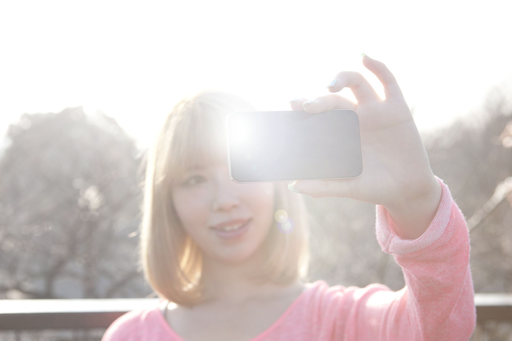 enable iphone led flash