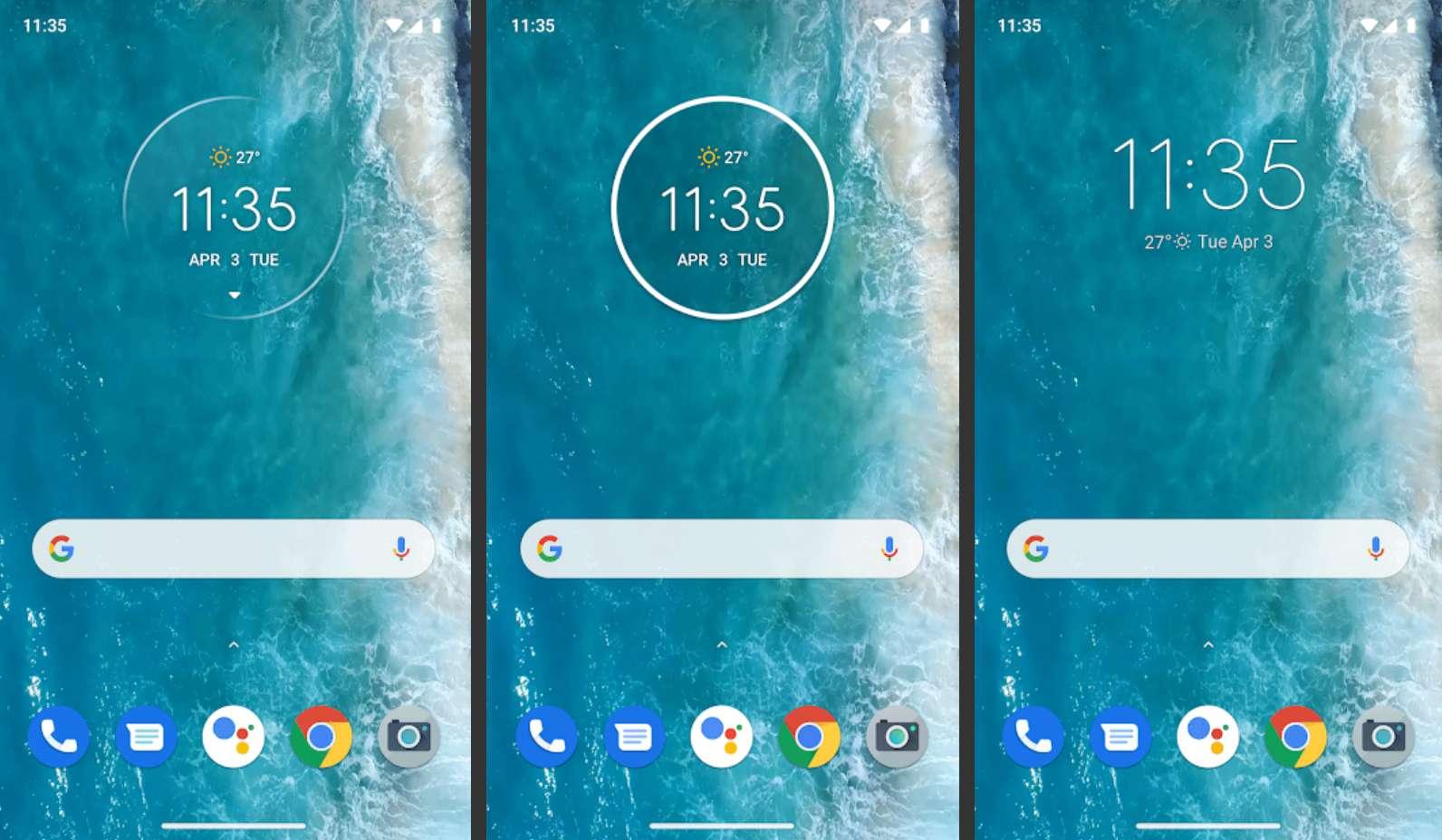 Moto Widget app