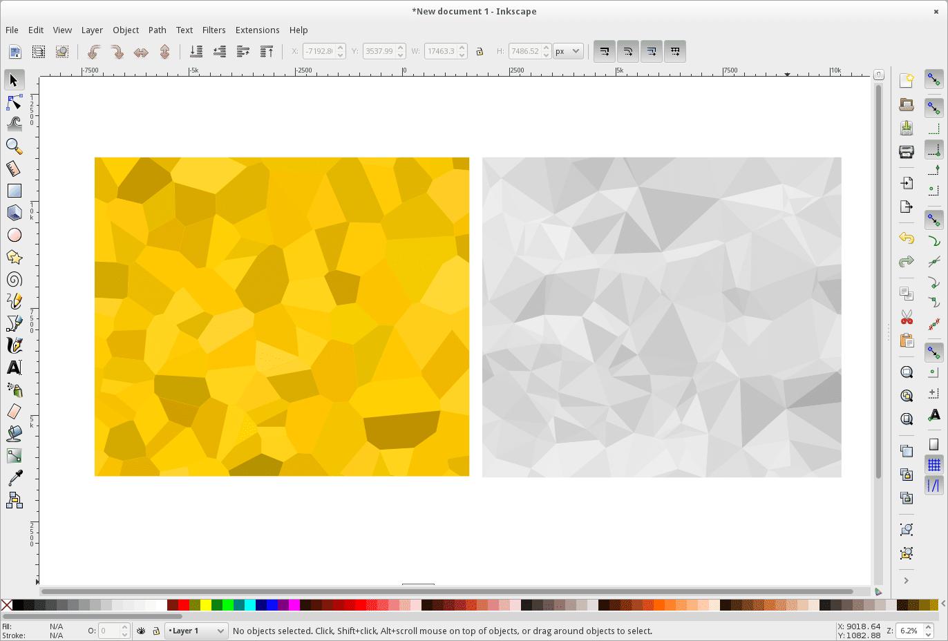 Inkscape open source vector drawing program