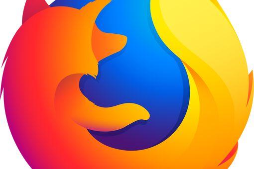Firefox logo.