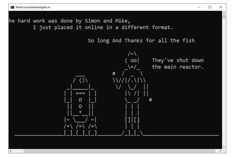ASCII Star Wars trick in Command Prompt