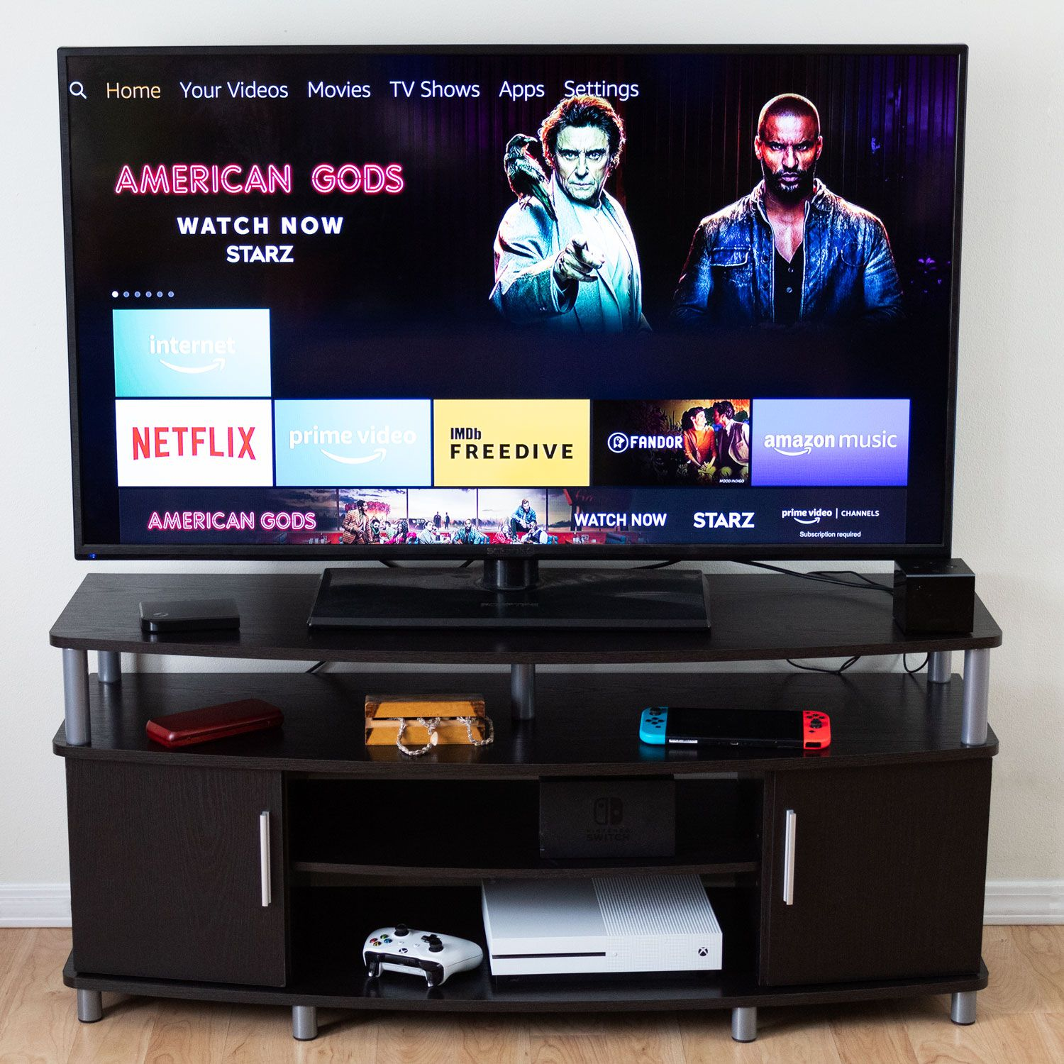 Ameriwood Home Carson TV Stand Review: An Affordable