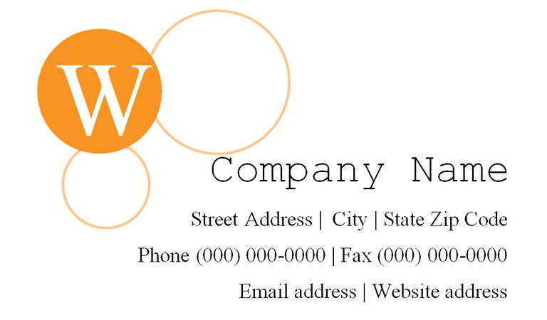 4491 free business card templates you can customize a white and orange business card template reheart Images