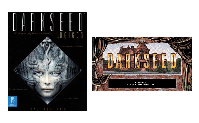 Dark Seed Box Art & Title Screen