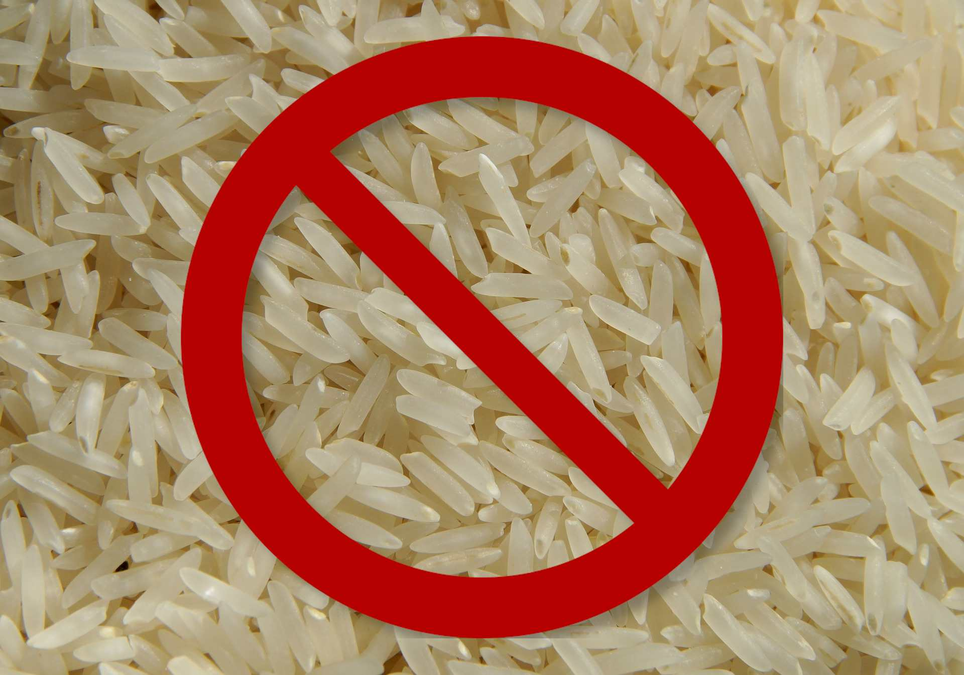 Don't use rice