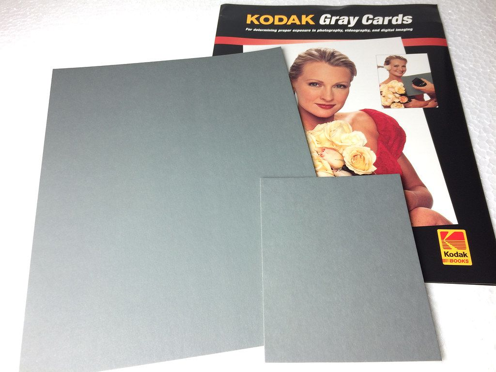 Gray cards