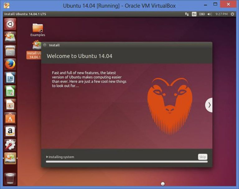 Run Ubuntu within Windows using VirtualBox.
