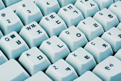 International keyboard symbols