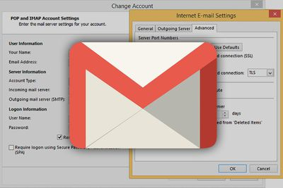 Allowing email programs access to Gmail