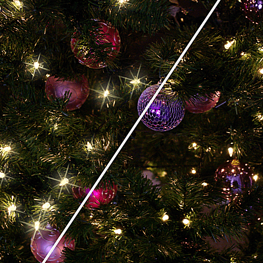 Create Christmas Light Twinkle in Photoshop Elements