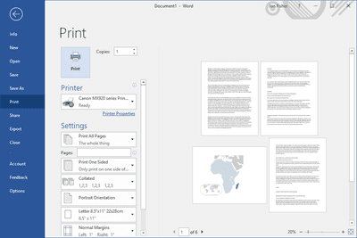 How to Modify Page Setup for Printing in Firefox