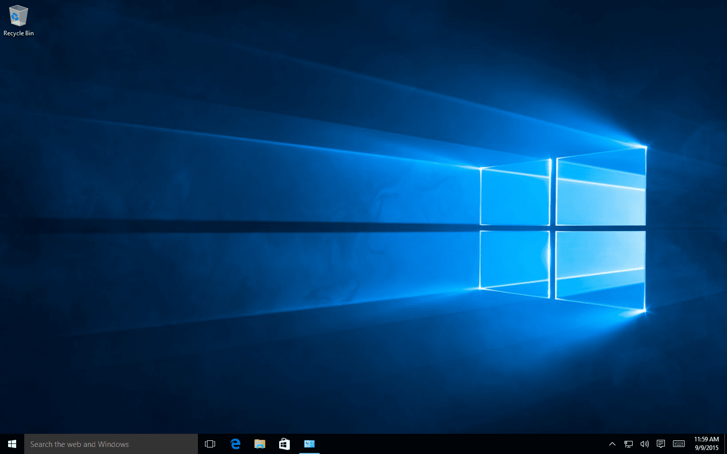 Screenshot Of The Windows 10 Desktop Your Smartphone Runs An Operating System