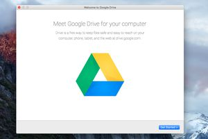 Google Drive for the Mac