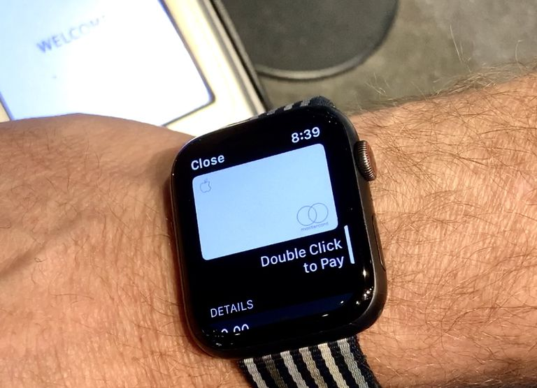 Apple Card on Apple Watch