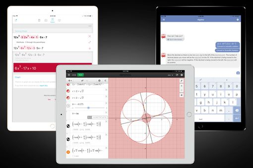 Screenshots of some of the best iPad calculator apps