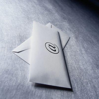 At Sign on Envelope