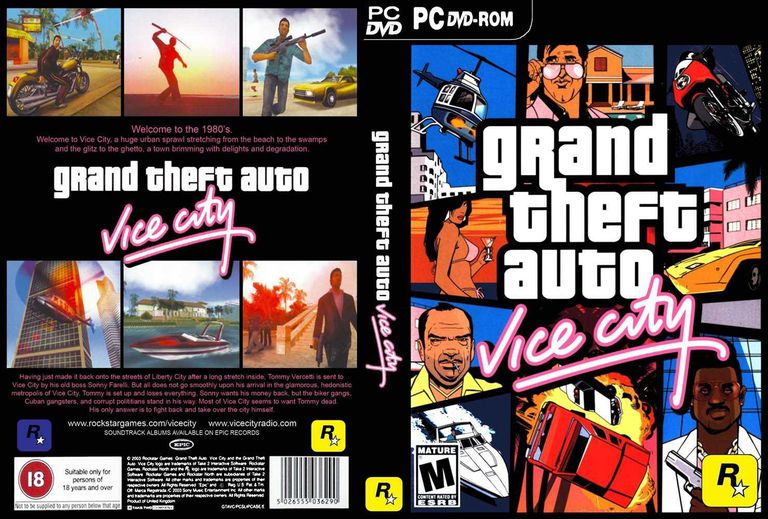 vice city game video play