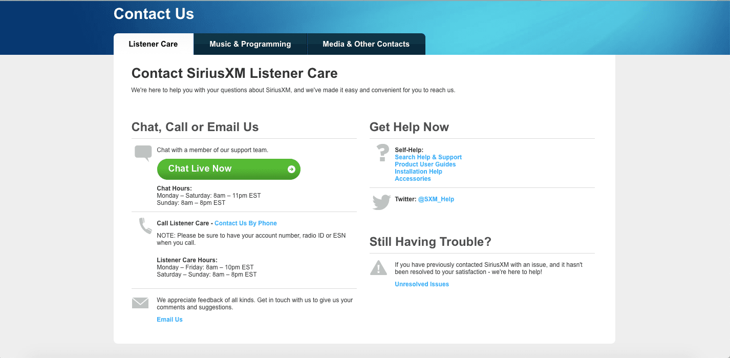 Siriusxm Cancel Subscription >> How To Cancel Siriusxm Radio