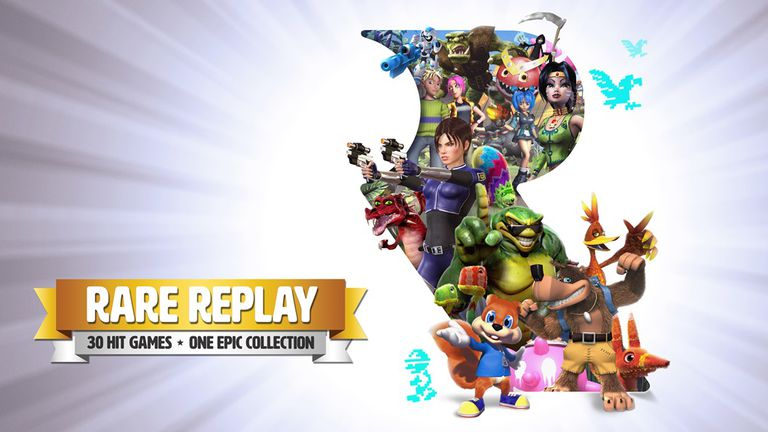 Rare Replay art