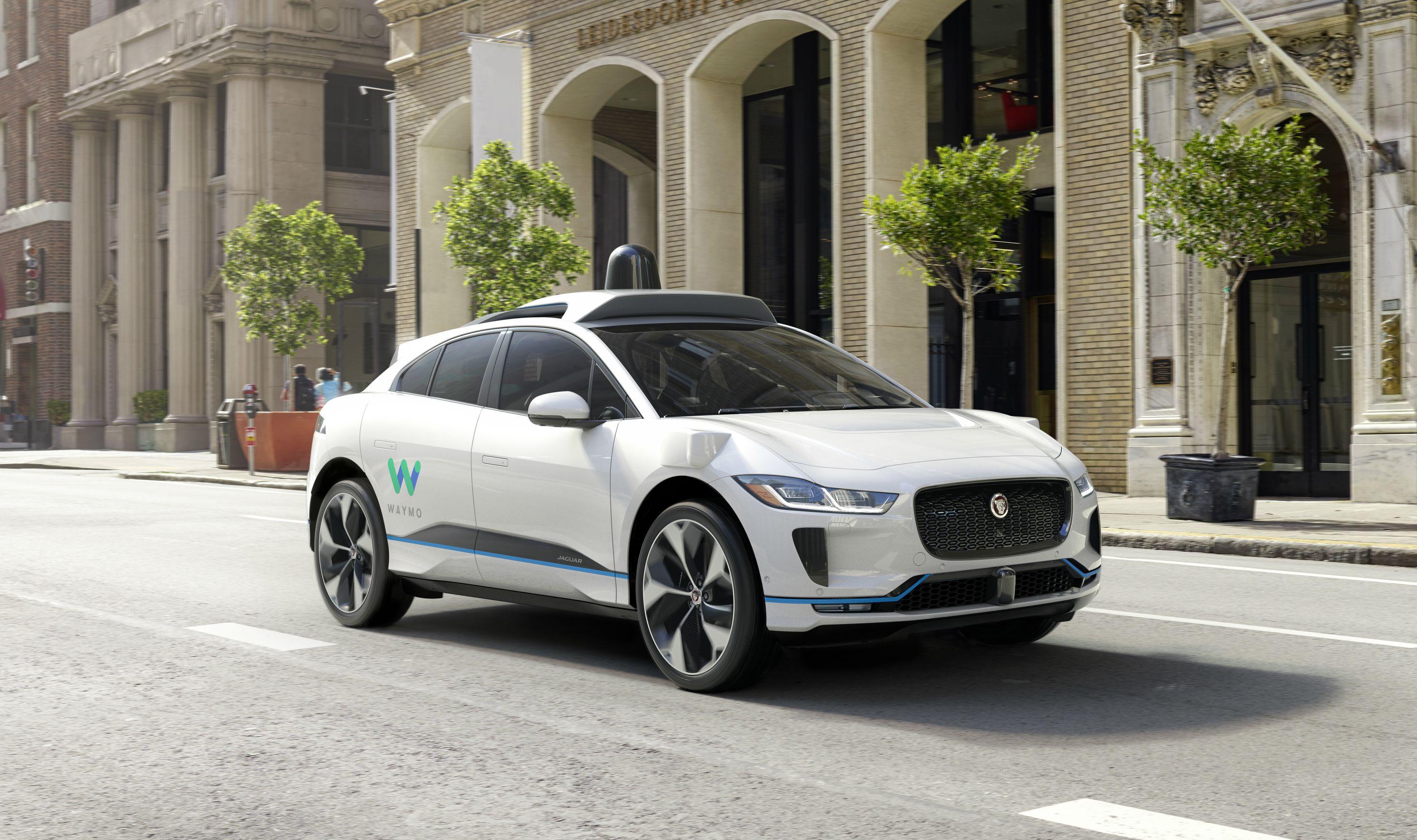 Waymo Jaguar I-Pace self-driving car