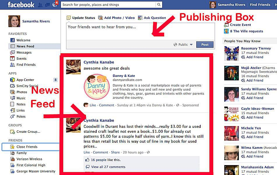 learn facebook tutorial how facebook works