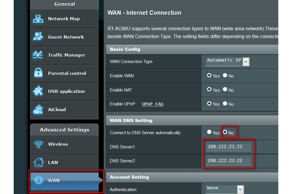 How to Change DNS Server Settings