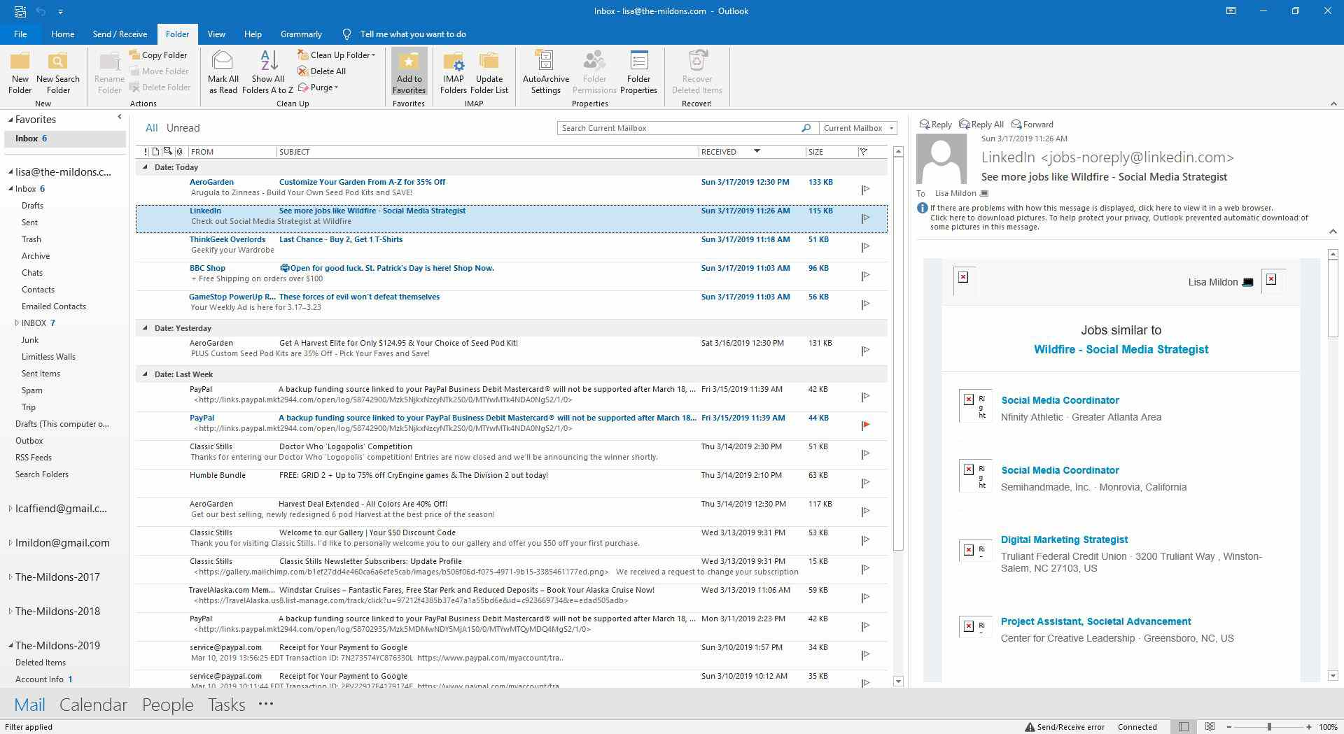 How to Purge Deleted Outlook Email